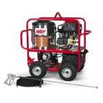 Hotsy Gas Hot Water Pressure Washer